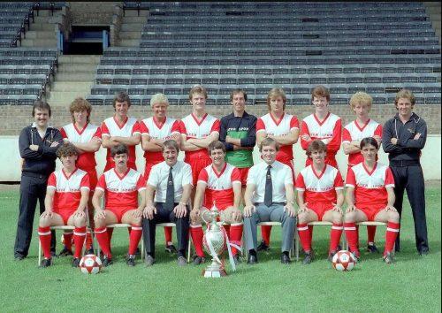 Kettering Town Football Club Team 1984