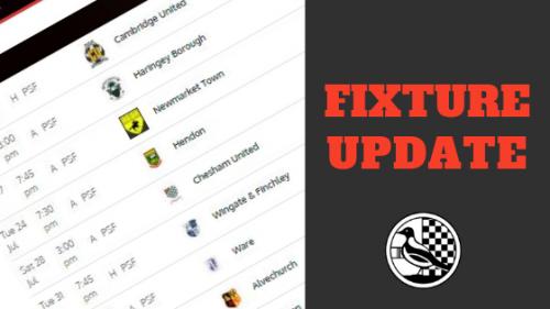 FIXTURE UPDATE: League Cup Quarter Final Postponed – Royston