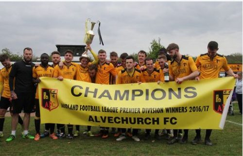 Alvechurch FC MFL champions