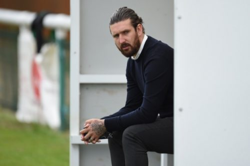 Biggleswade Town manager Lee Allinson