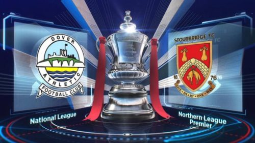 bbc fa cup dover stourbridge