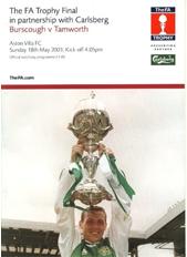 FA Trophy Final 2003 programme