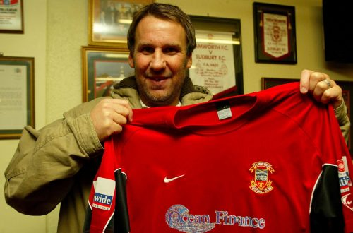 Paul Merson Tamworth