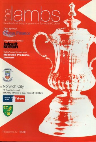 Tamworth vs Norwich