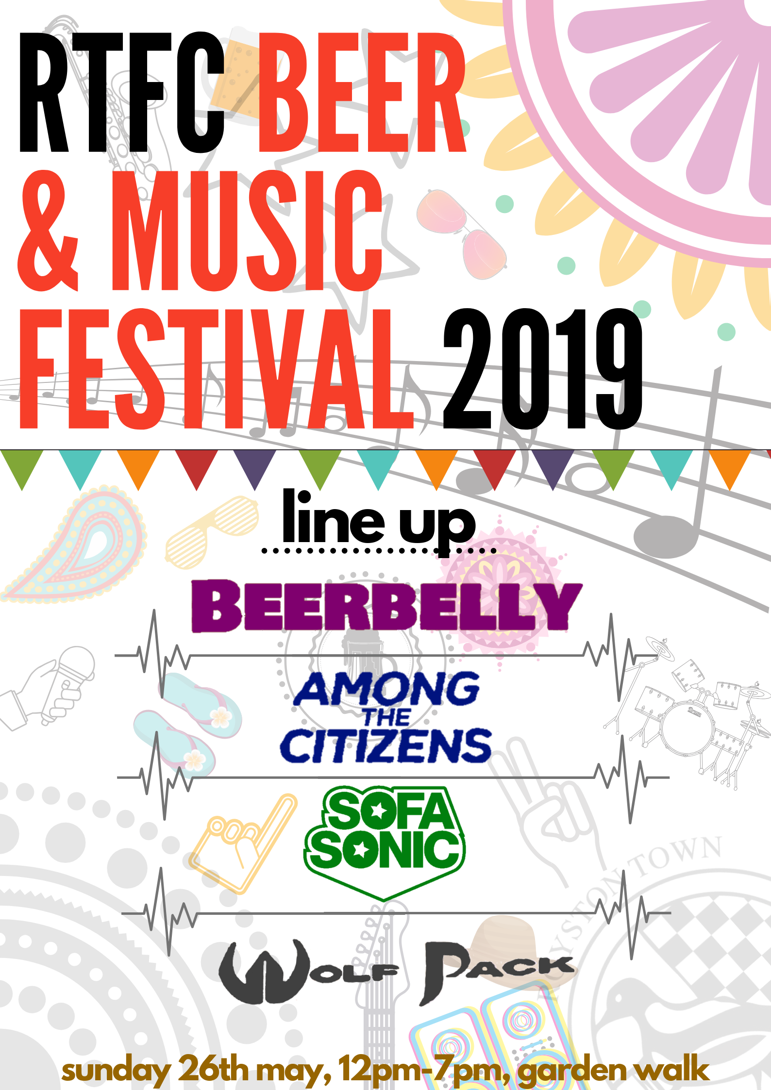 Beer and Music Festival line up