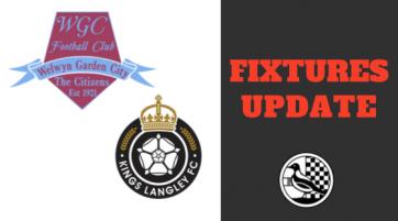 Fixtures update