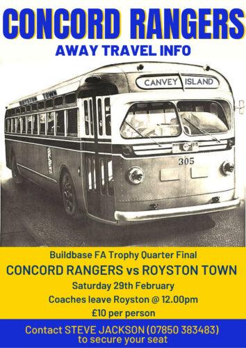 Concord Rangers travel info
